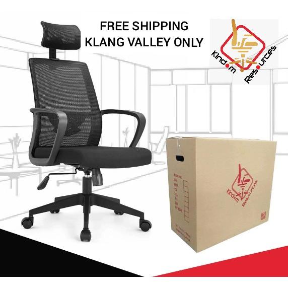 (FREE SHIPPING) Office Executive Chair K9180PQ Office Chair / Kerusi Pejabat Warranty 2 Years