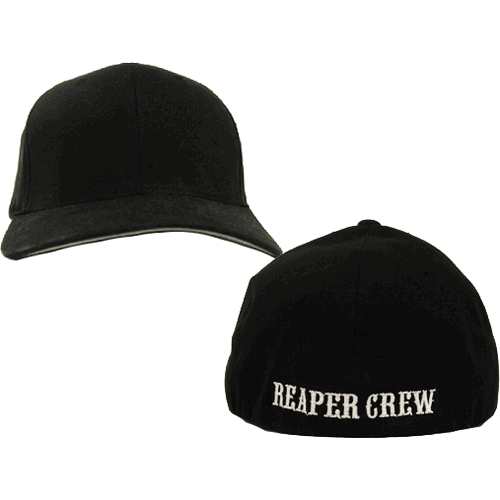 Adult Biker TV Show SOA Sons of Anarchy Reaper Crew Fitted Baseball Cap Hat