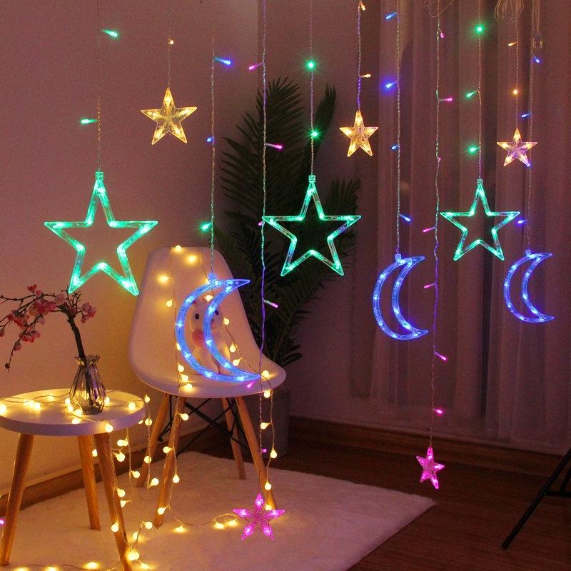 Led Star Lights String Lights Bedroom Romantic Dorm Room Decor Lamp 426 Shopee Malaysia