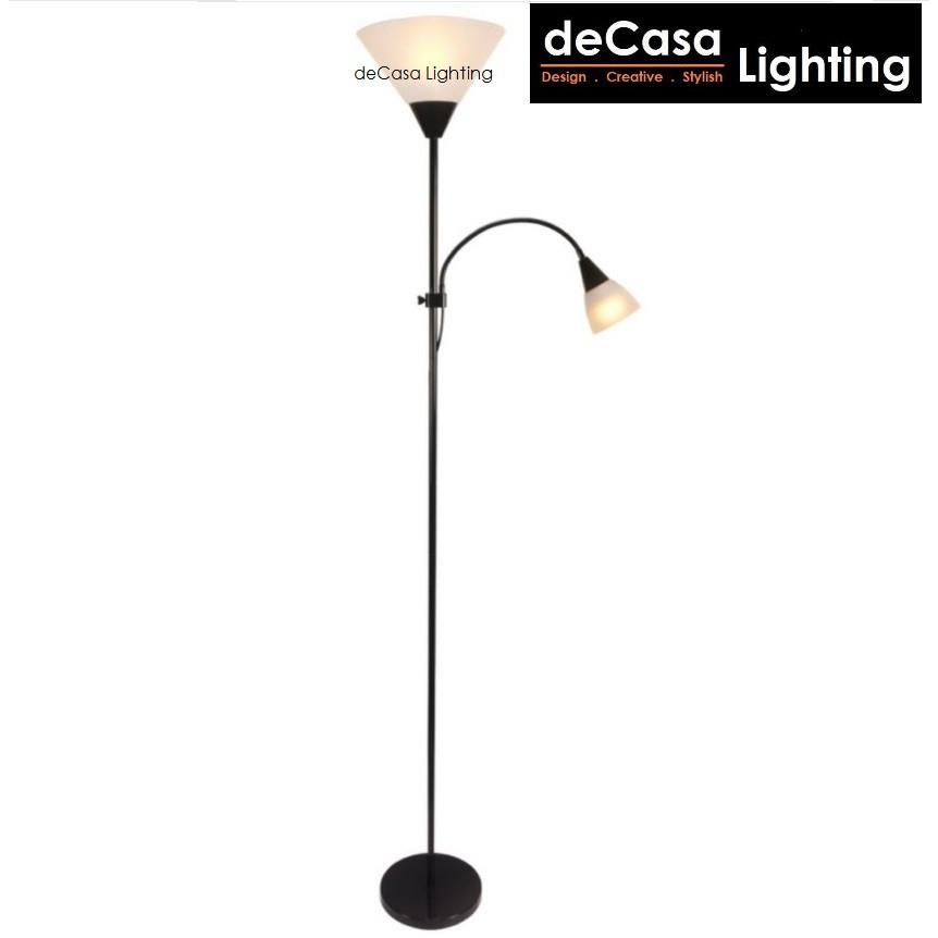 Floor Lighting Decasa Lighting Ikea Style Floor Lamp E27 Holder Lampu Stand Lamp Adjustable (5021)
