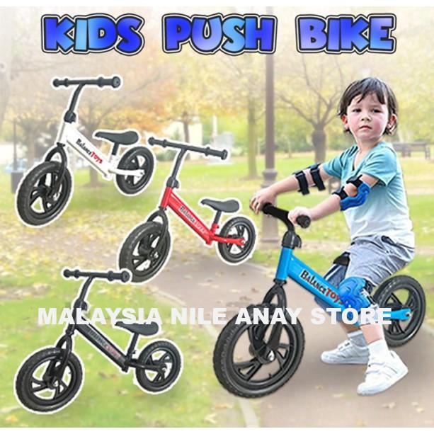 READY STOCK🌹 BASIKAL KANAK-KANAK 5-10 TAHUN / KIDS PUSH BIKE suitable for kids age 5 years - 10 years