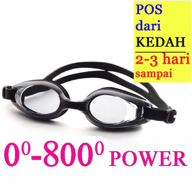 ffb72f99bbd Anti-Fog Myopia Prescription Power Swimming Goggles Dive