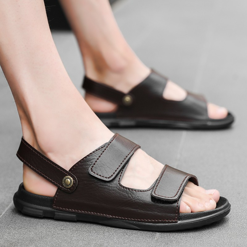 Hot Mens Summer Sandals Rubber Sole Casual Shoes Slipper Full Size Beach New