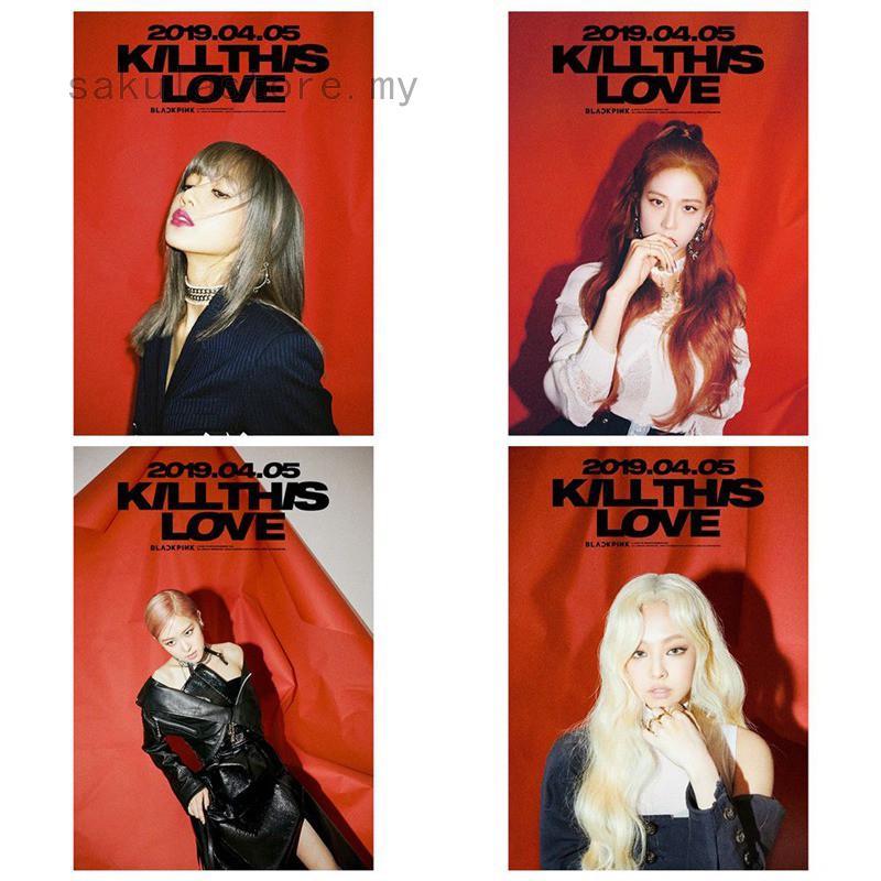 KPOP STAR BLACKPINK Album KILL THIS LOVE Self Made Paper