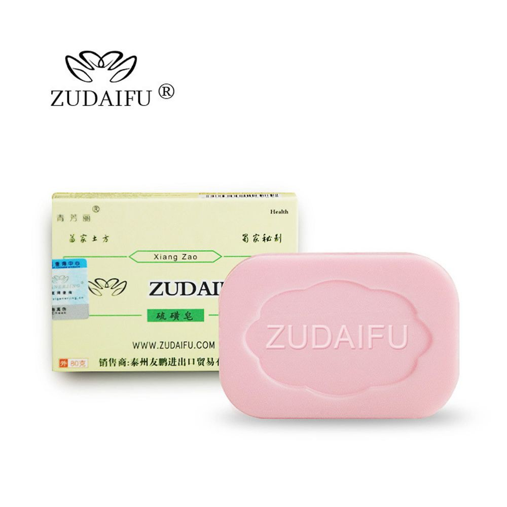 Beauty & Health High Quality 84g Sulphur Soap Dermatitis Fungus Eczema Anti Bacteria Fungus Skin Care Bath Whitening Soaps Products Hot Sale Soap
