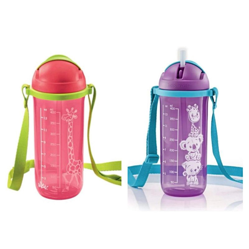 Tupperware (300ml with handle/No Handle or 400ml with strap) Straw Tumbler Straw Tumble