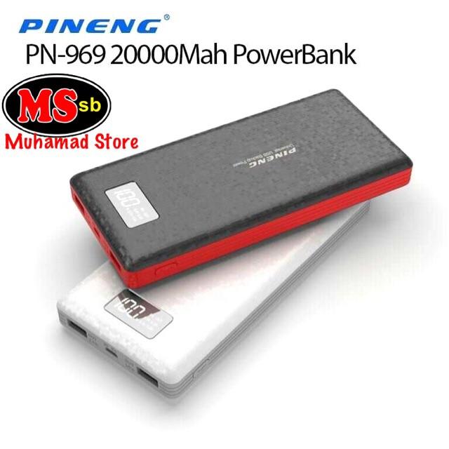 ORIGINAL !!! PINENG POWER BANK PN-969 (20,000mah)