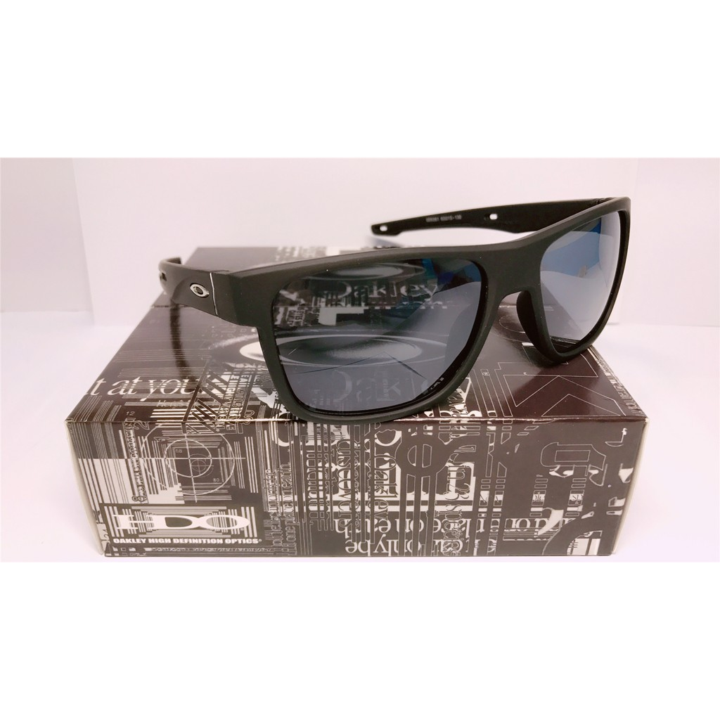 1f960cf057  Superbrand  NEW Oakley Sunglasses Polarized Madman Dark Carbon Prizm Daily  Black Grey Iridium ready stock