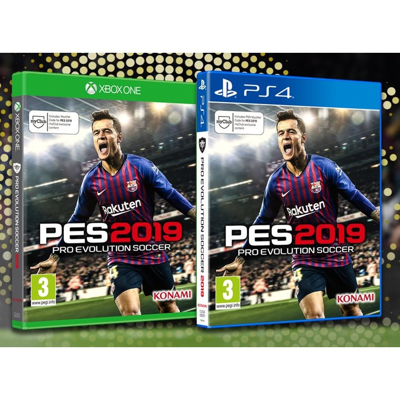 PS4 PES 2019 Pro Evolution Soccer 2019 [Standard Edition] (R2)