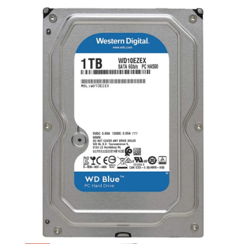 """WD CAVIAR BLUE 3.5"""" 1TB SATA III 64MB DESTOP HARD DISK"""