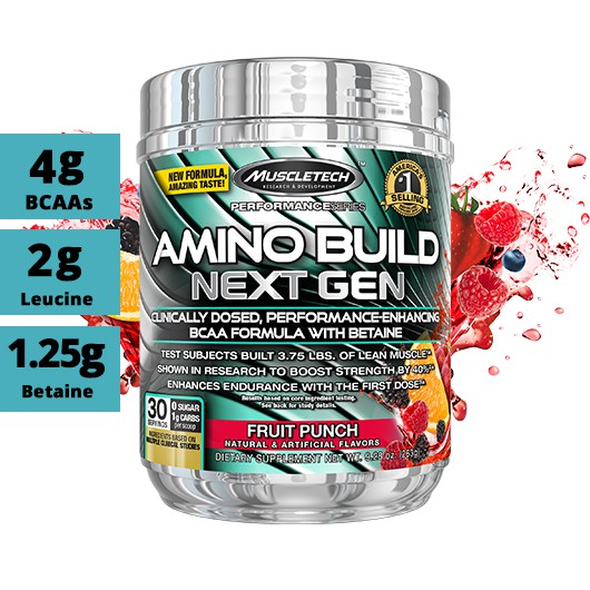 Muscletech Amino Build Next Gen (Fruit Punch)