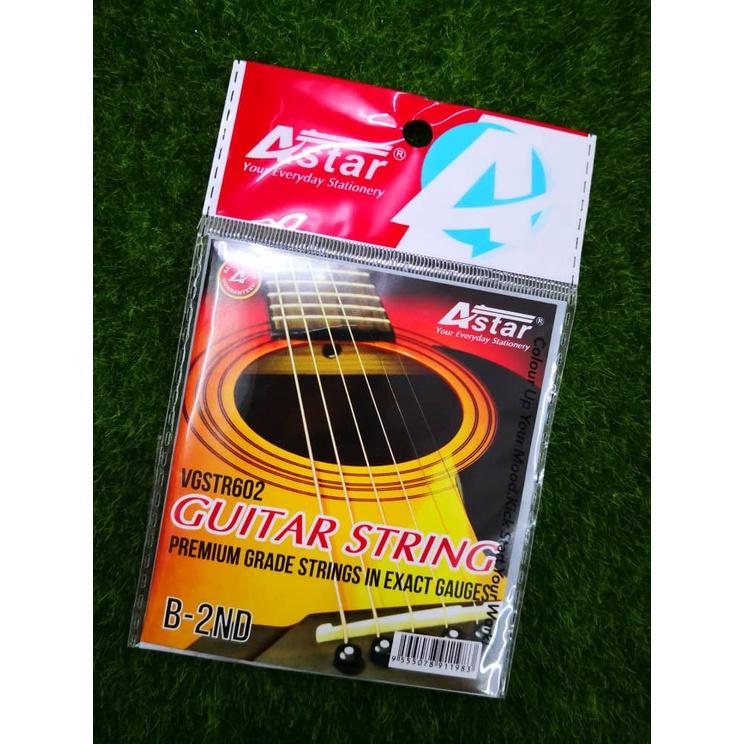 ASTAR Guitar String / Tali Gitar - #NO.1/#NO.2/#NO.3/#NO.4/#NO.5/#NO.6