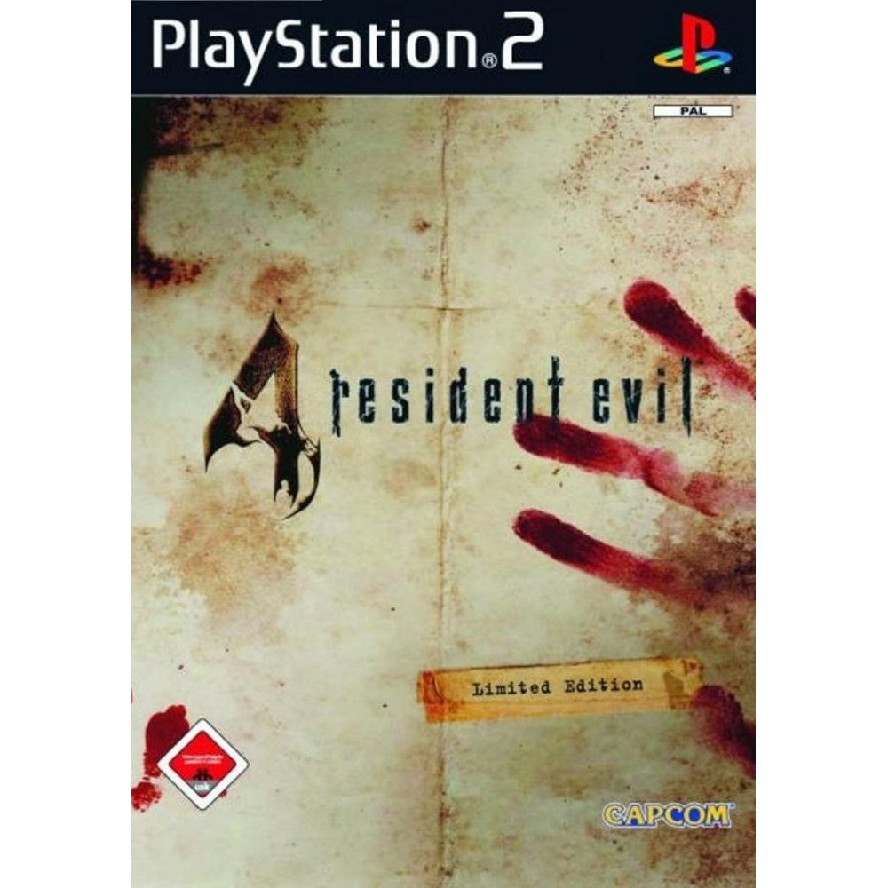 Resident Evil 4 Cheat Edition Ps2 Shopee Malaysia
