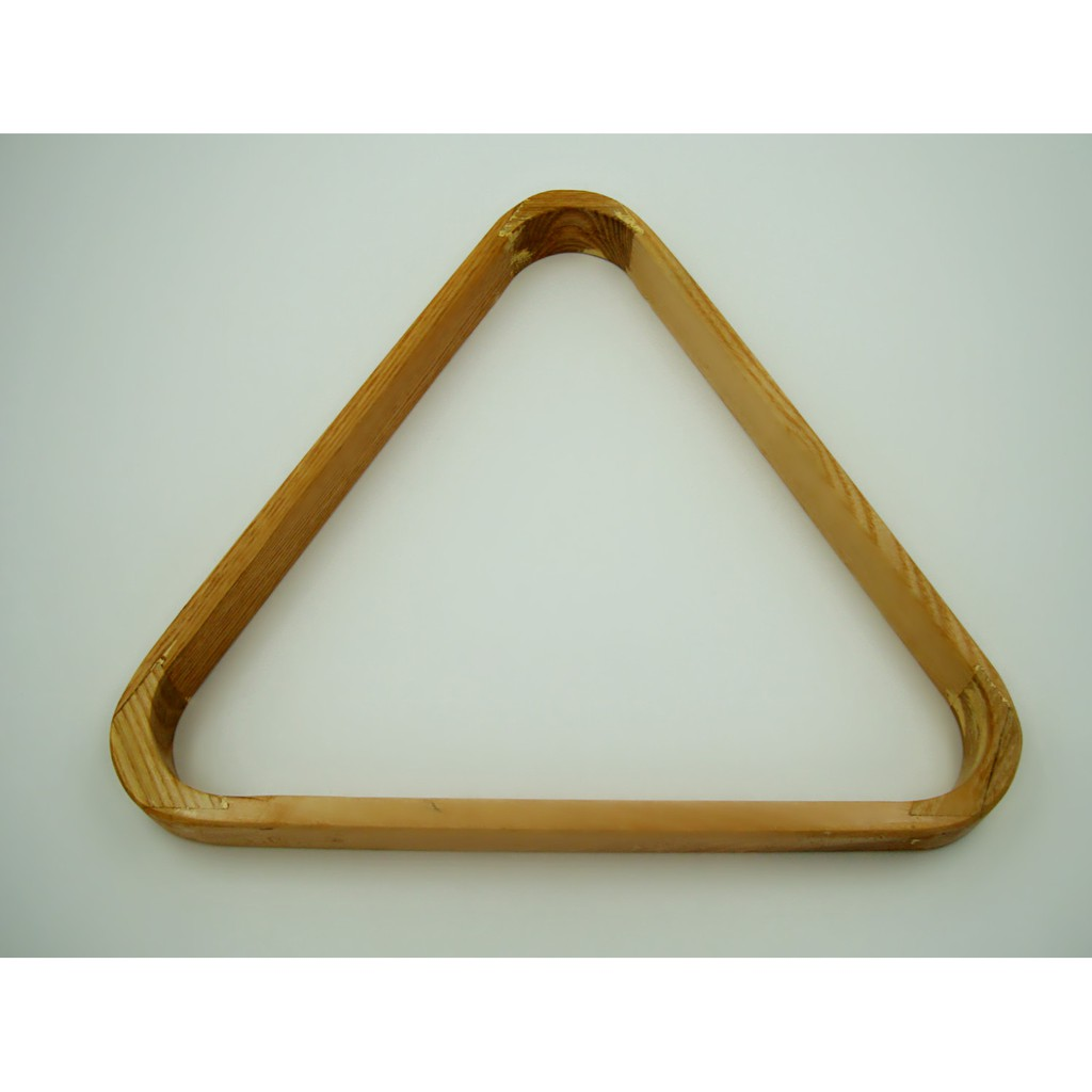 READY STOCK Wooden Pool Triangle Snooker 30x30cm