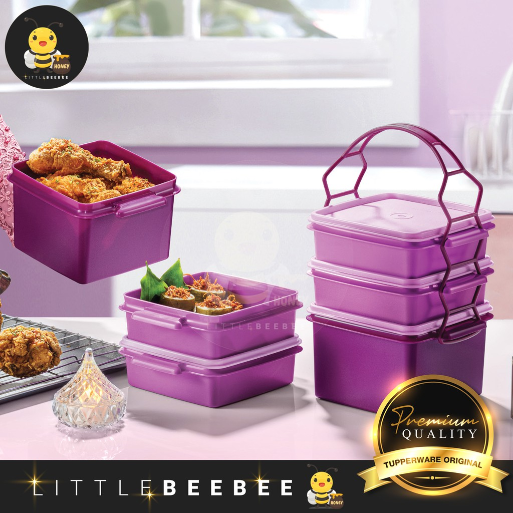 Tupperware Triffin Delight Set / Small Goody Box / Lunch Box