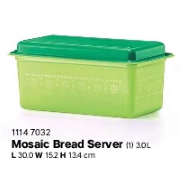 Tupperware Bread Server (1) 3L