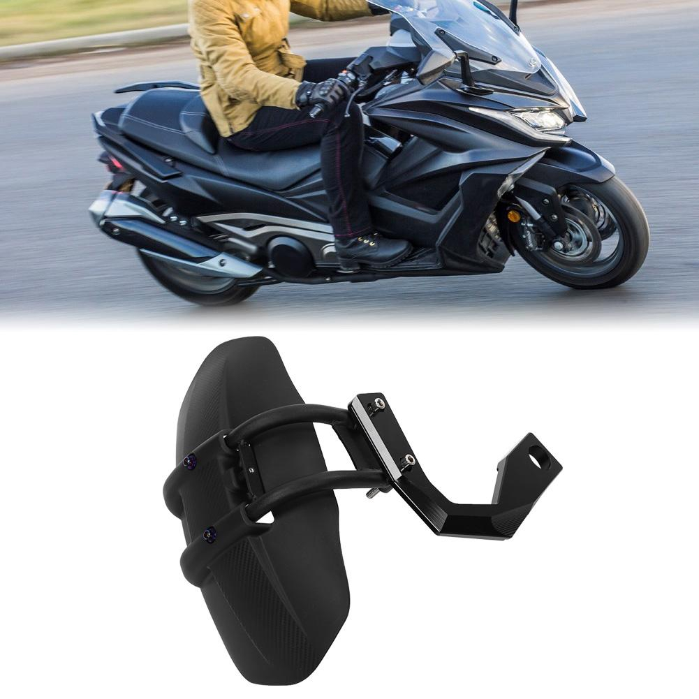 Duokon Motorcycle Rear Wheel Fender,CNC Aluminum Alloy Motorbike Modified Mudguard Mud Flaps Splash Guards Black