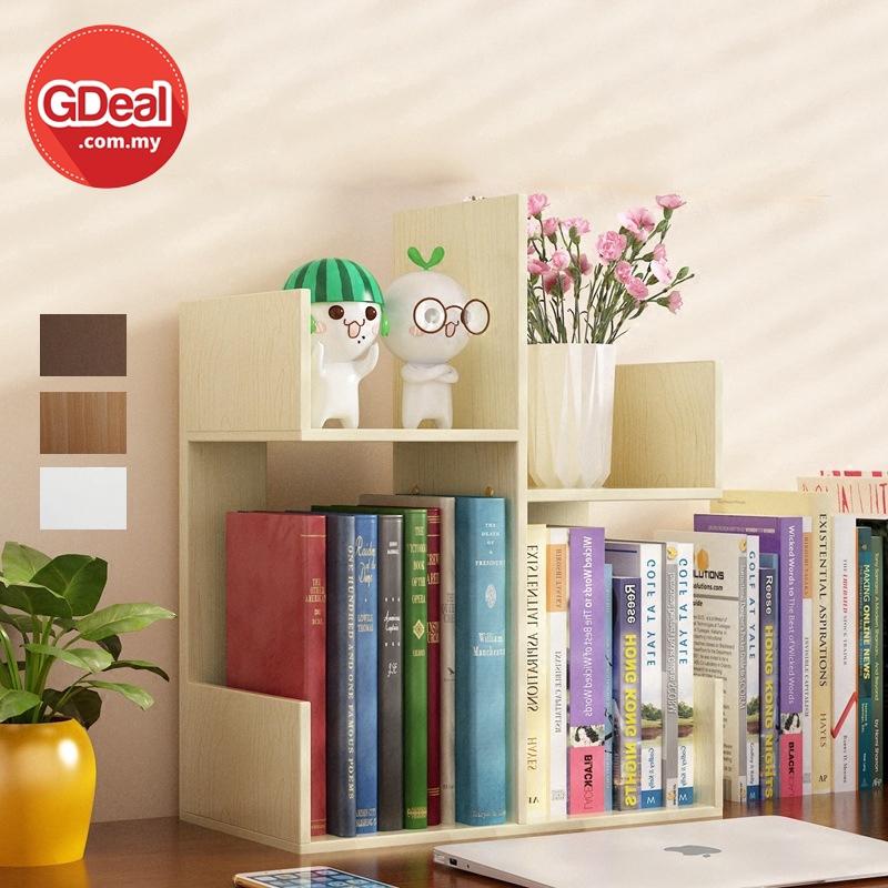 GDeal Student Desktop Small Simple Bookshelf Book Rack Storage Rak Buku (ZY-008) رق بوكو