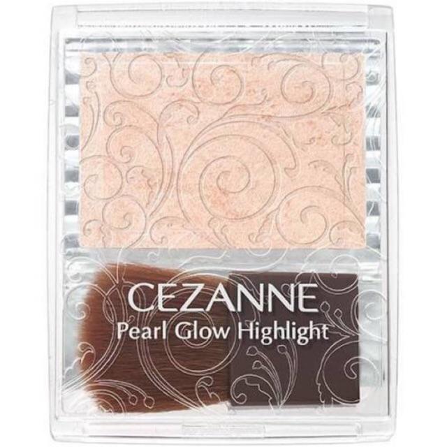 日本制《Cezanne Pearl Glow Highlight 打亮修容霜 》
