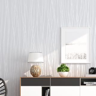 Wallpaper Self-adhesive Bedroom Warm Living Room Background Wallpaper  Sticker Simple Modern Wallpaper Sticker