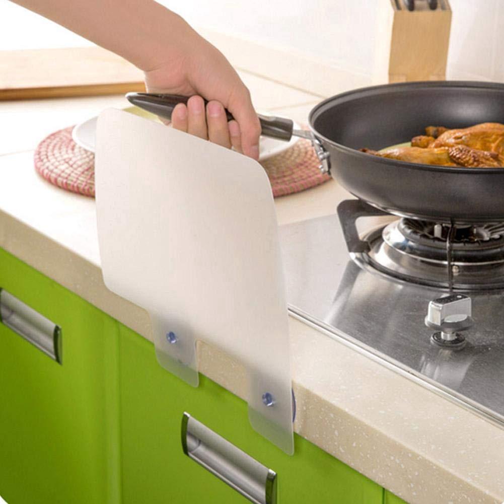 READY STOCK~2 pcs Sink Suction Cup Splash Guard Flap Kitchen Waterproof Partition