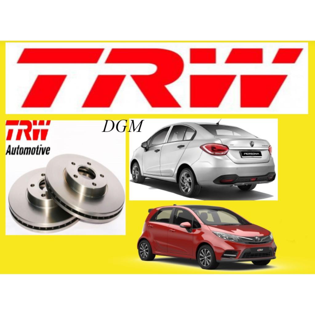 TRW Proton Iriz Persona VVT 2016y Front Brake Disc Rotor DF8169 1Pair 2Pcs