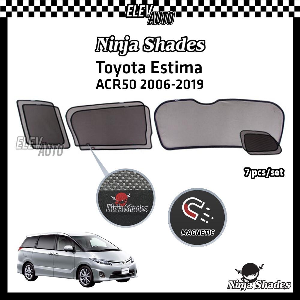 Toyota Estima ACR50 (2006-2019) Ninja Shades OEM Magnetic Sunshade
