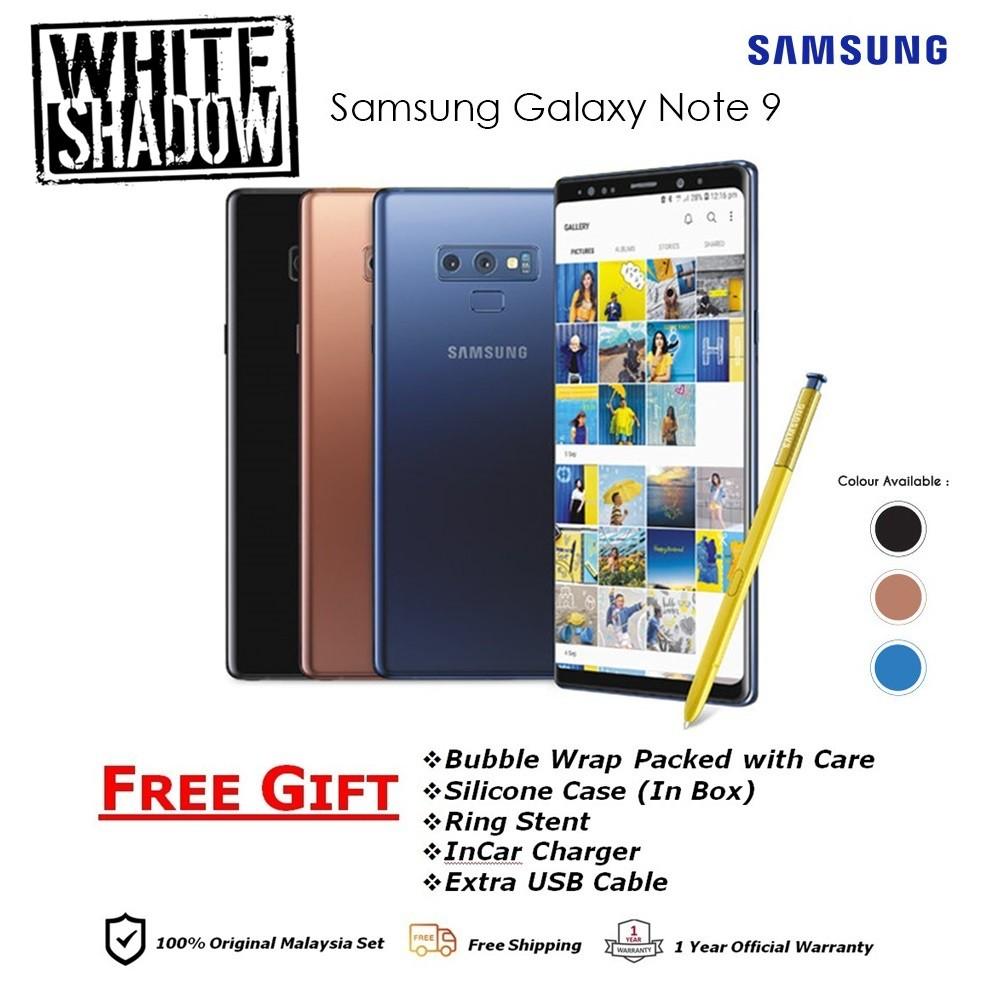 Samsung Galaxy Note 9 6GB+128GB Original Samsung Malaysia Warranty