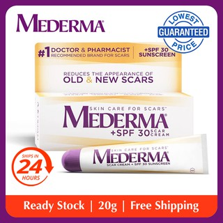Iimono Mederma Advanced Scar Gel Reduces The Appearance Of Old