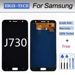 Super Original lcd Oled J730 lcd fro samsung j7 pro touch glass
