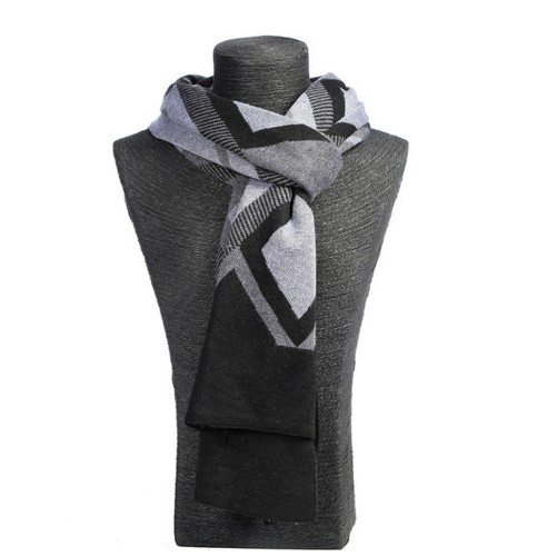 Mens Cashmere Silk Scarf Classic Winter Scarf Stole Wraps Shawl Scarves Maroon