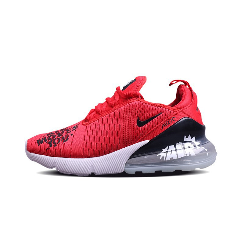 cheap for discount e32ab 2b5ea Mens Nike Air Max 270 Red Black White