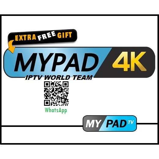 Free Gift !! MYPADTV Authorized Dealer MYIPTV HAOHD DRAGON AXIA TV MYPAD 4K