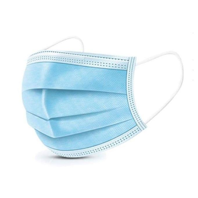 [Ready Stock] [10 pcs] 3Ply Disposable Surgical Face Mask / 3Lapis Topeng Muka 三层防护口罩