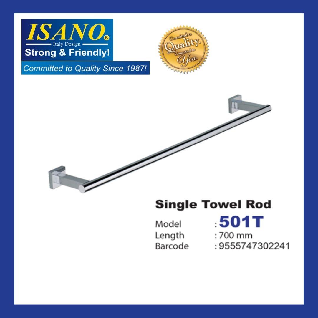 ISANO Single Towel Rod - 501T