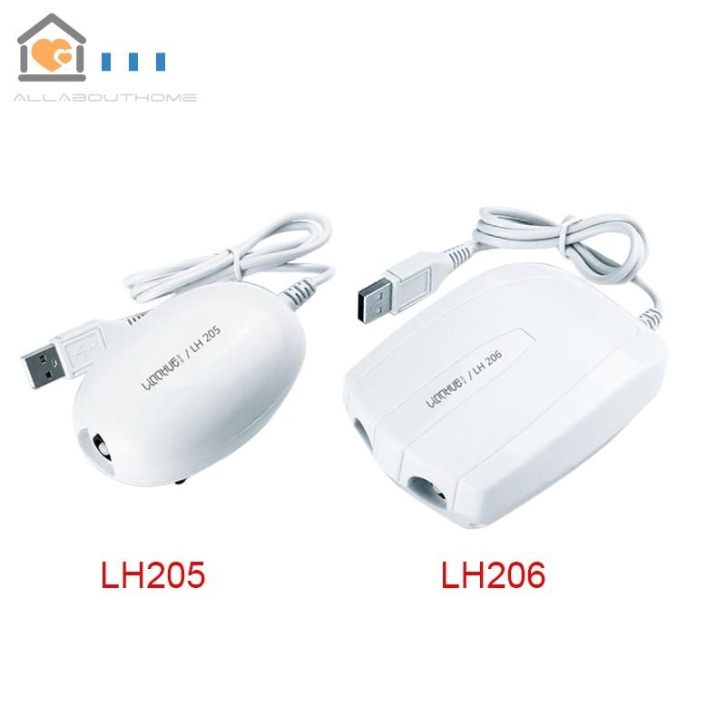 Fish Tank Aquarium Air Pump Filter Ultra Silent USB Powered