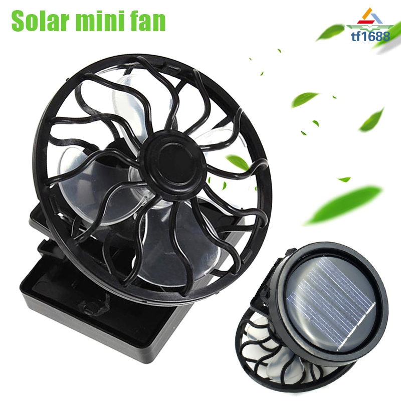 Back To Search Resultshome Appliances Mini Portable Clip-on Solar Panel Powered Cooling Fan For Travel Camping Fishing Bright Luster Fans
