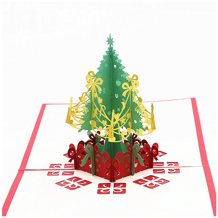 Christmas Pop Up Cards.2 Pack Christmas Pop Up Cards Christmas Tree Merry Christmas Card