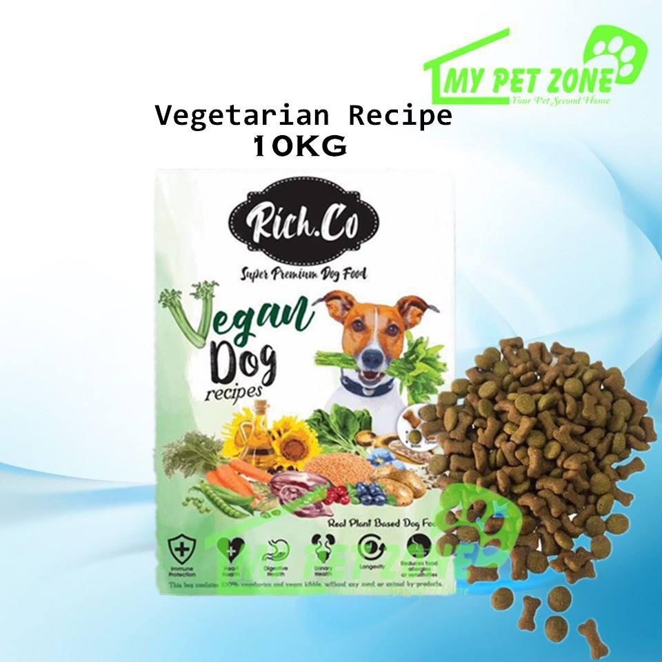 Richco Vegan Dog Vegetarian Recipe Dog Food 10kg