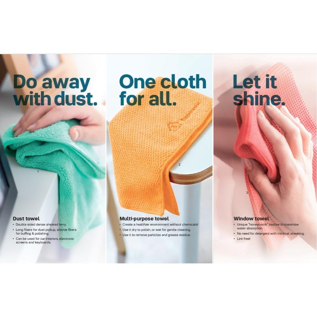 Tupperware Microfiber Cloths (1) (Multi Purpose/Window/Dust)