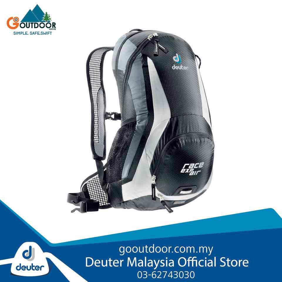 18a87f7b895 Deuter Race EXP Air black-white | Shopee Malaysia