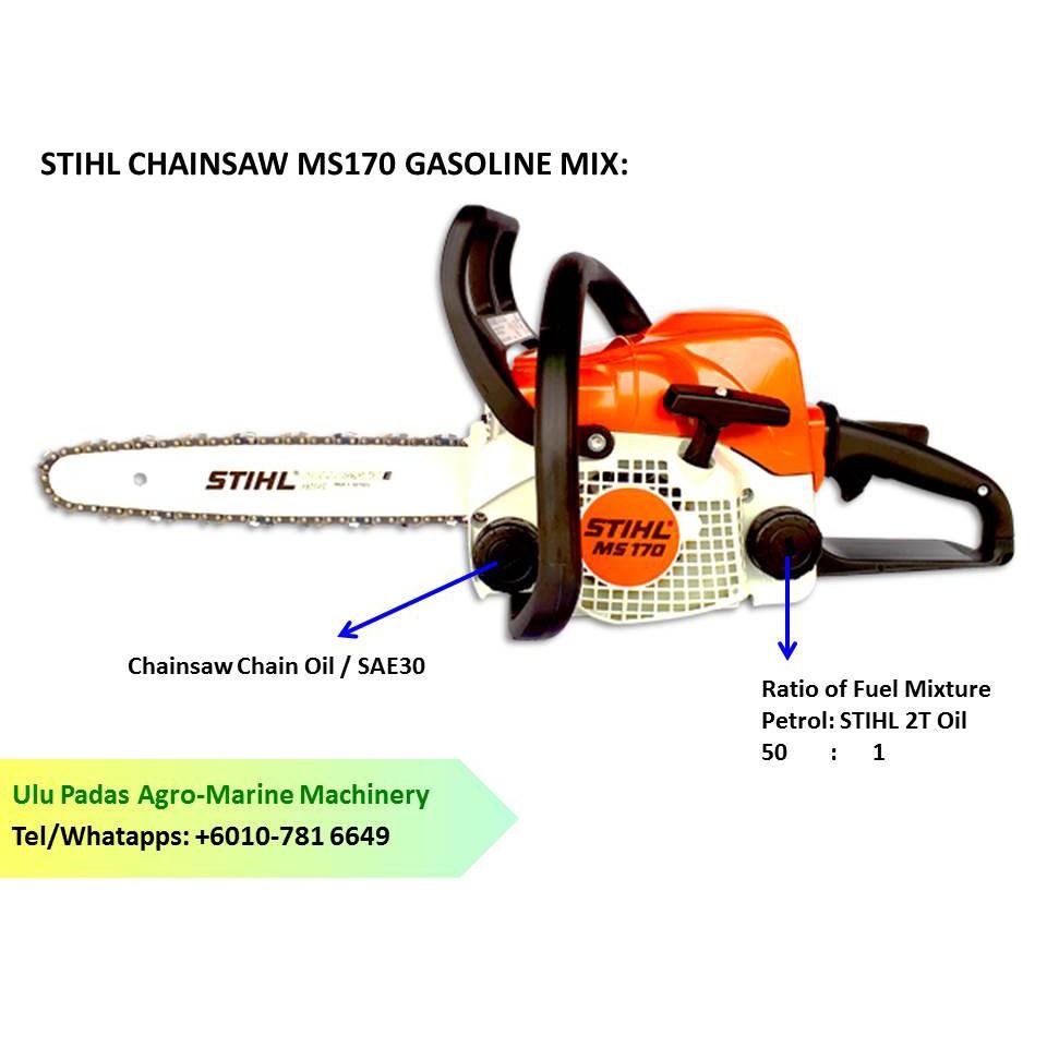 STIHL Chainsaw MS170 (14