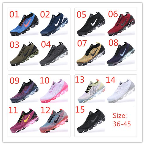 pretty nice 848b7 e26aa 100% Original Nike Air Vapormax 2019 15 colors flying line(36-45)ready  stock   Shopee Malaysia