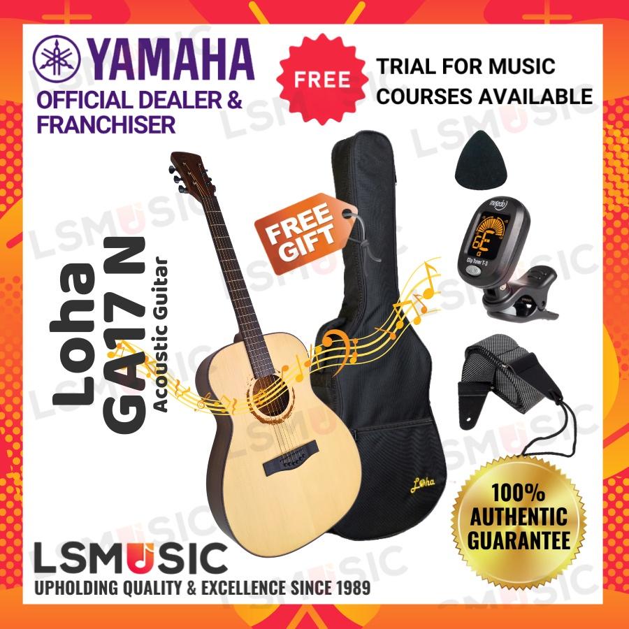Loha GA17 Acoustic Guitar ( L.Luthier GA 17 ) Gitar accoustic guitar Music instrument Gitar Akustik Promosi OFFER !!