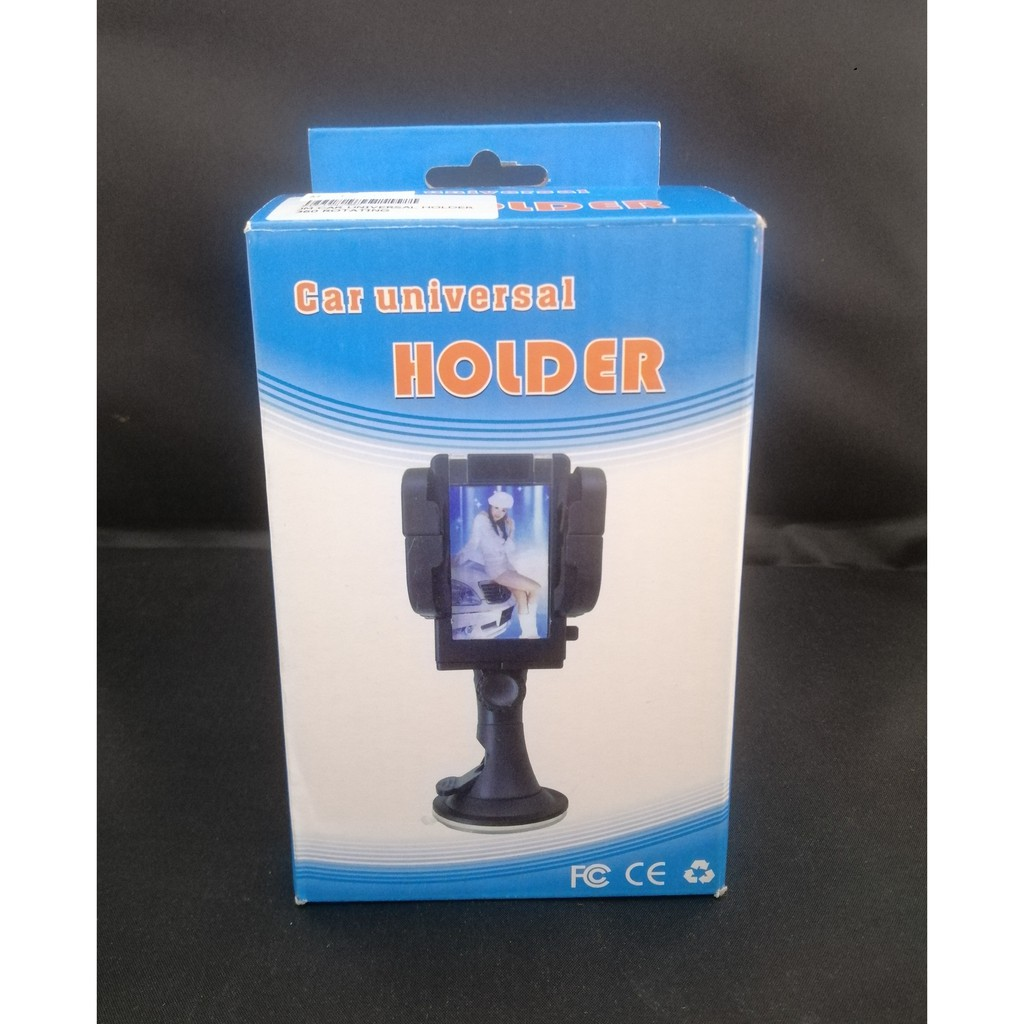 CAR UNIVERSAL HOLDER SUITABLE FOR ANY MP3 MP4 MOBILE GPS PDA  360°ROTATING SUPPORT HOLDER