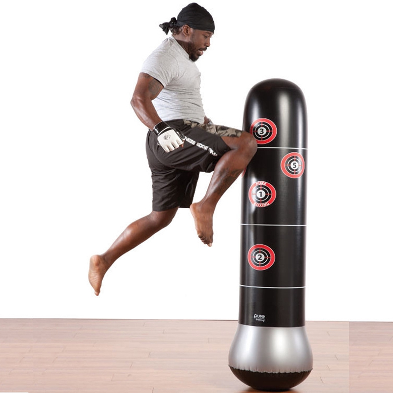 New punching bag Training Fitness Boxing Punching Bag Inflatable Aerated Irrigat