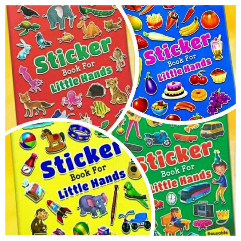 [Mommyhappy] Buku Sticker untuk Kanak-kanak l Sticker Books for Little Hands