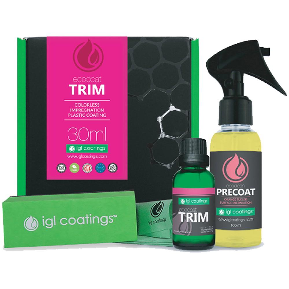 IGL Coatings Ecocoat Trim - Ceramic Nano Coating For Trim Wheel Rubber Plastic