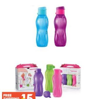 Tupperware Eco Bottle 310ml penutup jenis screw comel je botolnya sesuai untuk anak-anak prasekolah atau untuk ibu-ibu