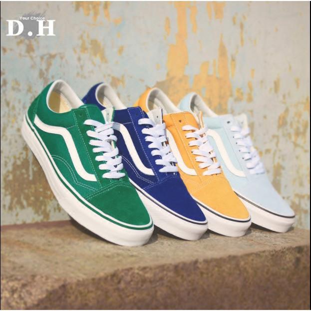 Clearance [wholesalestore] VANS women's shoes men's shoes multicolor old skool casual shoes
